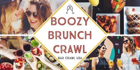 The Boozy Brunch Crawl: Greenville tickets