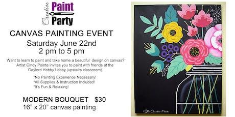 Modern Bouquet -- Saturday June 22   2 pm tickets