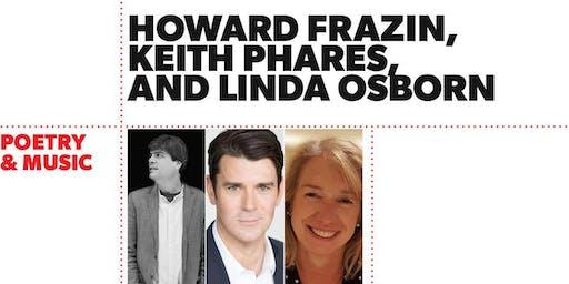 Poetry & Music: Howard Frazin, Keith Phares, and Linda Osborn