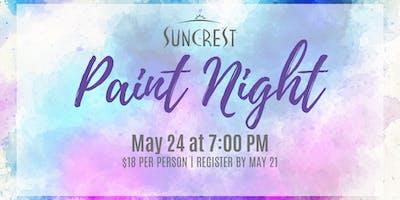 SunCrest Paint Night