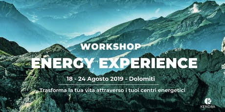 WORKSHOP DI TRASFORMAZIONE ENERGY EXPERIENCE Tickets