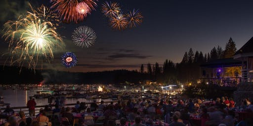 Independence Day at Bass Lake - Live music, BBQ & Fireworks