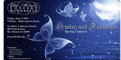 "Des Moines Concert Handbells presents: ""Suites and Fantasies"" Spring '19"