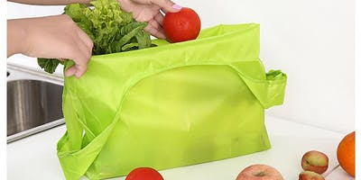 Sew a Reusable Ripstop Nylon Grocery Bag
