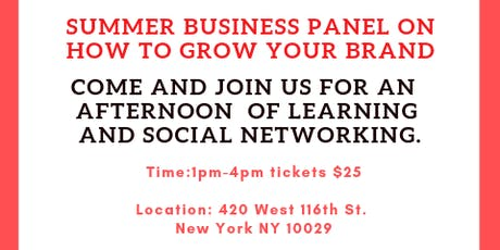 Summer Business Panel tickets