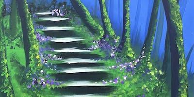 Secret Steps Brush Party - Beaconsfield