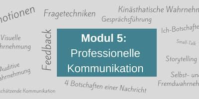MODUL 5: Professionelle Kommunikation
