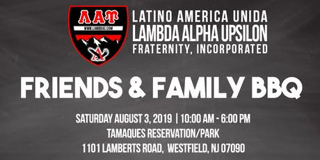 10th annual Lambda Beta Friends and Family BBQ tickets