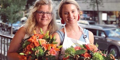 Flower Arranging with The Atlanta Women's Foundation