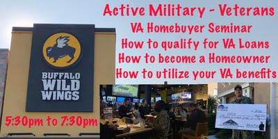 Military - Veterans - VA Homebuyer & VA Loan Seminar