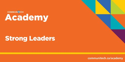 Communitech Academy: Strong Leaders - Fall 2019