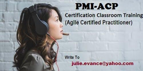 PMI-ACP Classroom Certification Training Course in Meadow Lake, SK