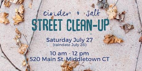cinder + salt Street Clean-Up in Middletown CT tickets