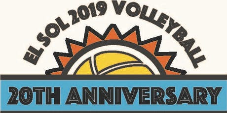 2019 20th Annual El Sol Blind Draw Volleyball Tournament and Shrimp Boil tickets