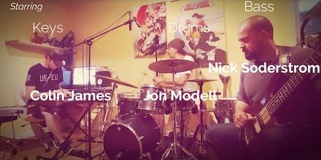 Jon Modell, Nick Soderstrom & Colin James LIVE! tickets