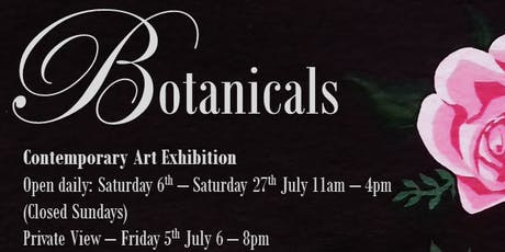 Botanicals Private View tickets