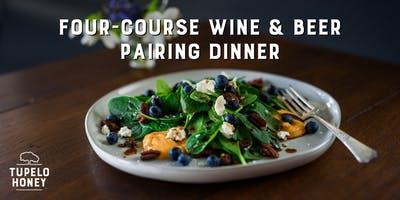 Four-Course Wine & Beer Pairing Dinner