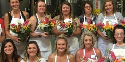 Blooms and Brews at Calapooia Brewing Company