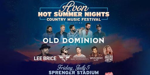 Avon Hot Summer Nights Country Music Festival 2019 w/ Paulina Jayne