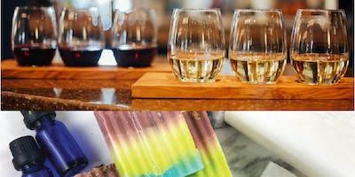 Artisan Soaps, Wine & Pizza Night