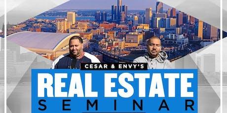 Cesar & DJ Envy Real Estate Seminar in Chicago tickets