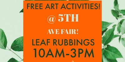 FREE Leaf Rubbings for Kids!