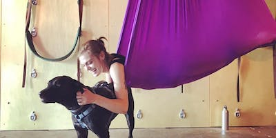 Bring Your Own Puppy Aerial Yoga