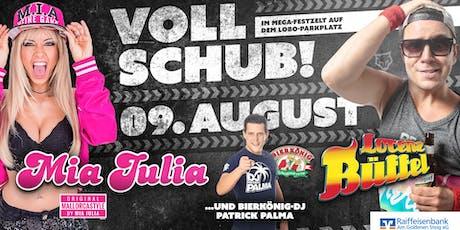 VOLLSCHUB | Die Mega Mallorca Eskalation mit Mia Julia, Lorenz Büffel, uvm. Tickets