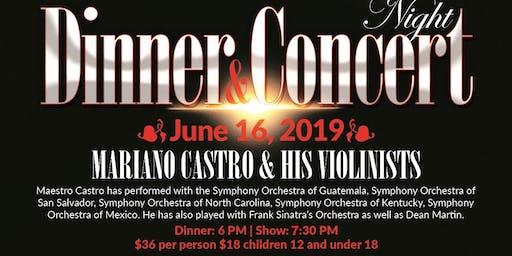 Dinner & Concert Nights