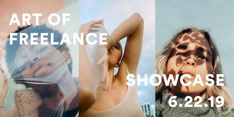 Art of Freelance Showcase tickets