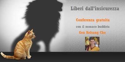 """Conferenza gratuita """"Liberi dall'insicurezza"""""""