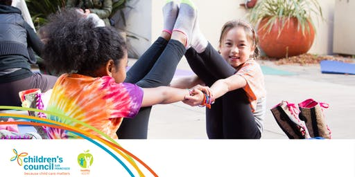 Early Educator Workshop: Jump-Start Physical Activity 20190814