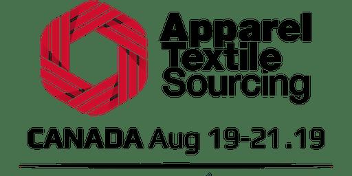 Apparel Textile Sourcing Canada 2019