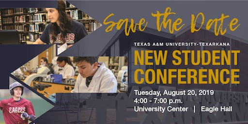 New Student Conference - August 20th