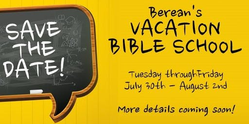 Berean VBS -2019 Mystery In The Mirror