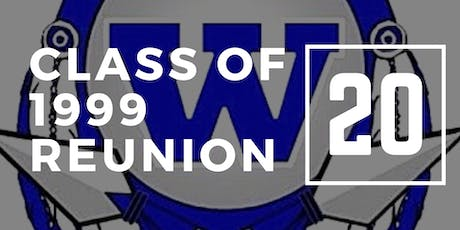 WLW Class of 1999 Reunion tickets