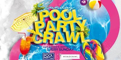 Sunday's PLATINUM Pool Party Crawl (July 21)