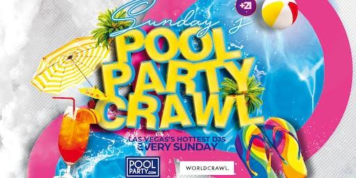 Sunday's PLATINUM Pool Party Crawl (August 18)