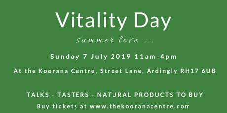 Vitality Day - Summer Love tickets
