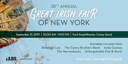38th Annual Great Irish Fair