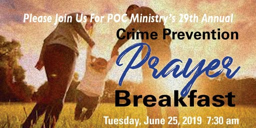 POC Ministry Crime Prevention Breakfast
