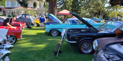 Castaic Lake RV Park Car and Motorcycle show