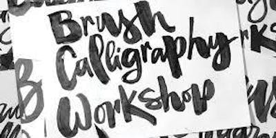 Brush Calligraphy Classes for Adults - 4 weeks workshop in Derby