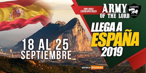 ARMY OF THE LORD ESPAÑA/Escuela Evangelismo Sobrenatural e Invasión