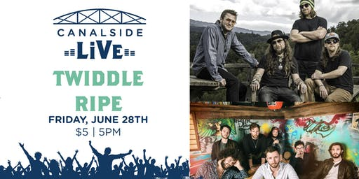 Canalside Live Series: Twiddle with Ripe