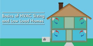 Basics of HVAC sizing and low load homes - Free CE...