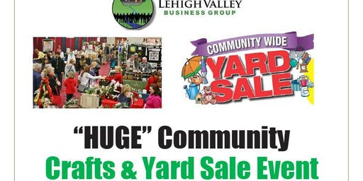 HUGE Community Crafts and Yard Sale Event Nov. 16th - SOLD OUT