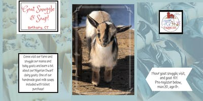 Goat Snuggle with Nurse to Farm Girl Goats!