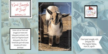 Goat Snuggle & Soap with Nurse to Farm Girl Goats tickets