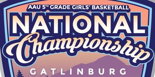 2019 AAU 5th Grade Girls Nationals Pre-Purchased Admission and Souvenir Programs